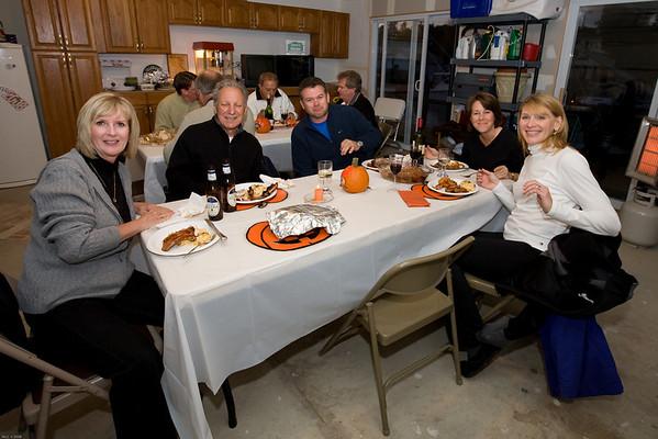 Just eating , Peggy, Tony, Bob, Carol and Sherri