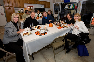 Just eating , Peggy, Tony, Bob, Carol and Sherri