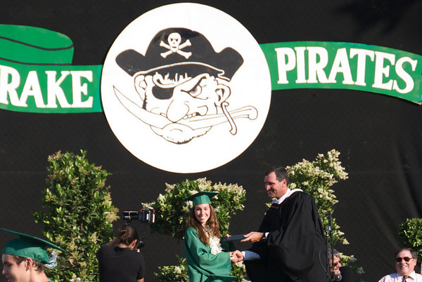 Cassidy Rose Clancy Lang graduates from Drake High in June 2008