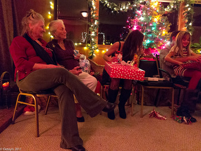 Christmas Eve 2011 at Jeanni's