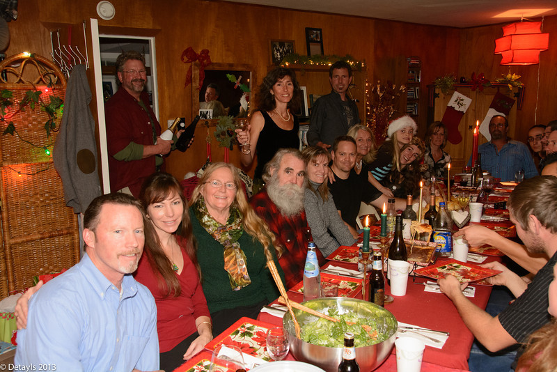 Christmas Eve 2013 at Jeanni's