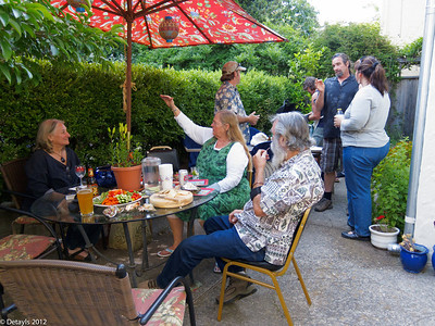 Memorial Day Party at Jeanni's in May 2012