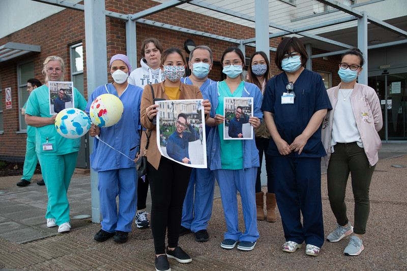Frontline nurses pay tribute to colleagues who died of covid-19