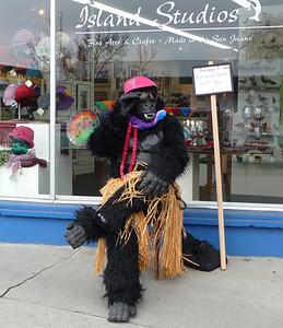Clark - historical - gorilla costume +