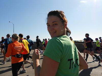 NYC Marathon - Tricia and Janice