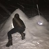 Nocturnal igloo maintenance