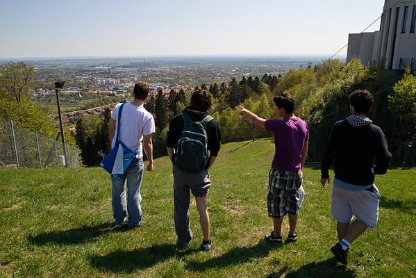 Climbing at Billingen