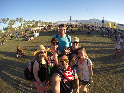 Coachella Fest: Day 3 Apr 2016
