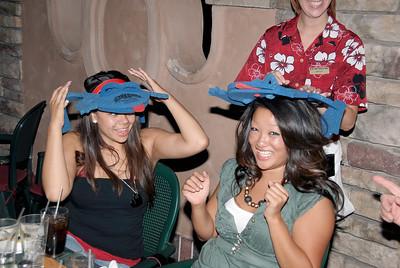 Blue Frog hats! Stylin!!