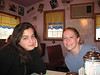 Becca, Aimee, Sarah Parrish and I went to get pie at the Purple Cow diner in Fairfield! It was awesome.
