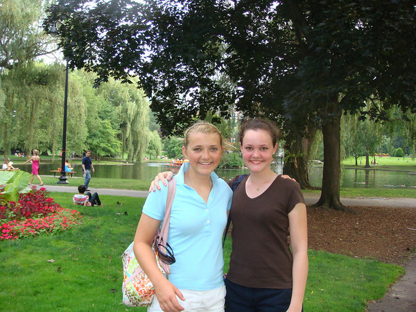 College Visits w/ Natalie 2009