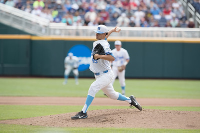 North Carolina vs Mississippi State NCAA College World Series