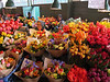 The market was full of the most colorful fresh flowers!