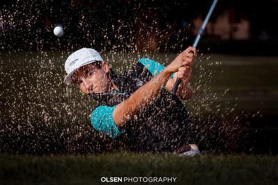 092520 Colton Stock Senior Photographer Golf photos portraits sports  Omaha Olsen Photography Gretna, Nebraska