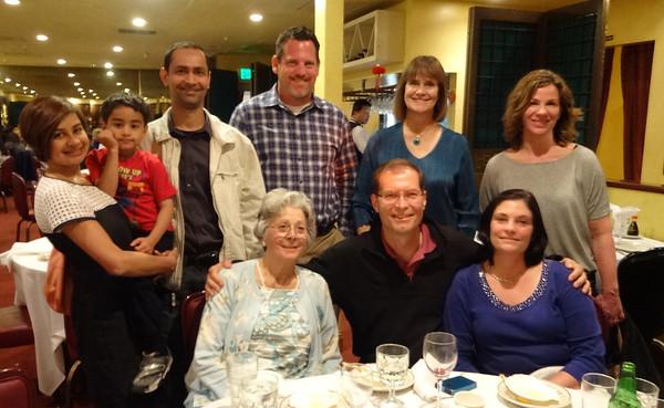 Connie Weaver's farewell dinner 2014