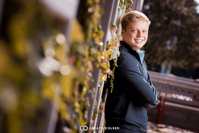 081818 Connor Lammel Senior Portraits Omaha Nebraska