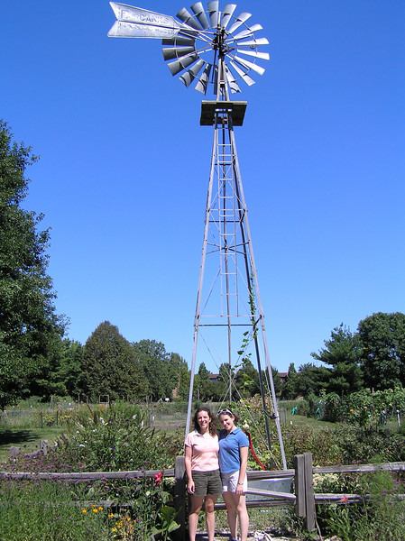 The cool windmill at Meadowbrook Park