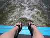 My feets (I wasn't paddling at this point)