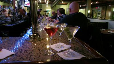 Three drinks with David and Patti