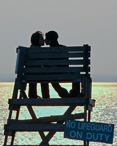 Couple at Morgan Park