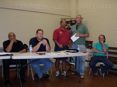 Jack Wyatt Sr's last union meeting.