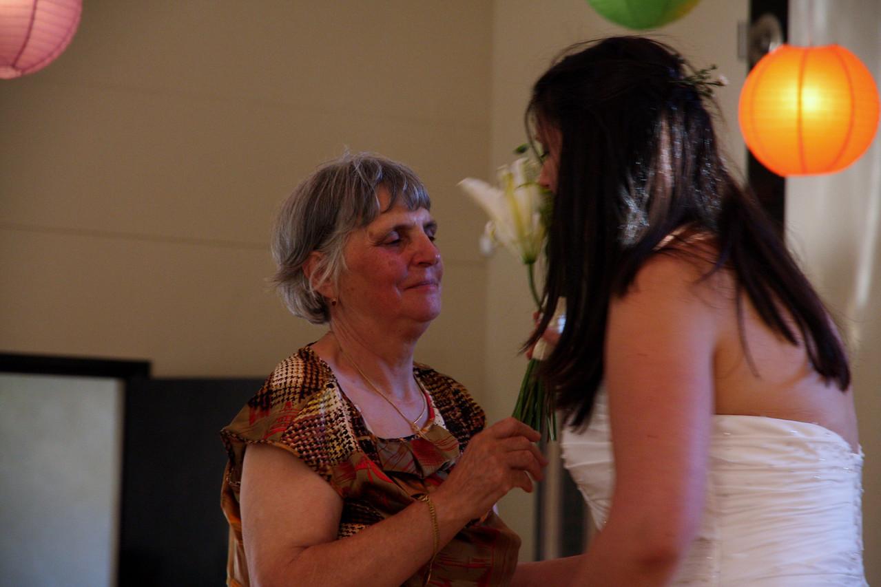 Ilda and her mom.