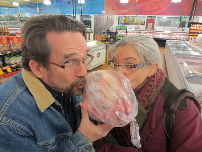 Dan and Mary Smith in the International Village of Atlanta, GA 11.27.13