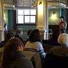Danielle talks to a packed house about how to hold the government accountable. She wowed 'em!