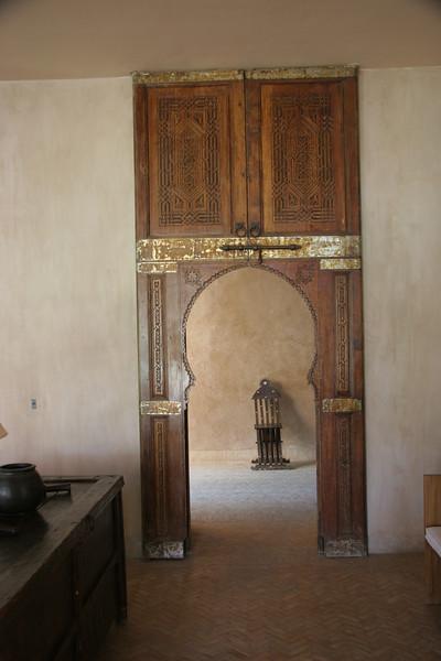 lounge doorway