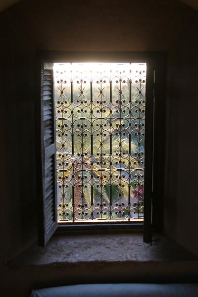 window in tower