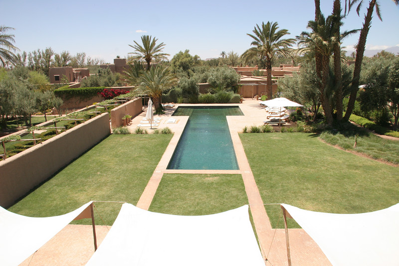 view of pool from sun terrace
