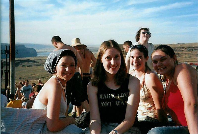 Stephanie, Jessica, me, Carly