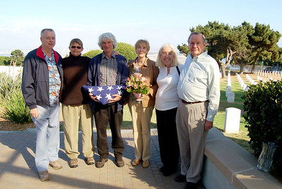 Dave Mustard Memorial Ceremony, Ft. Rosecrans