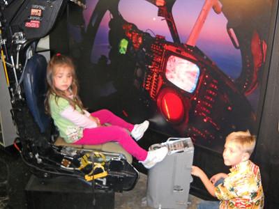 the Kids fly an Intruder