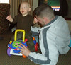 Dayton 3-08--Ethan and Daddy