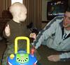 Dayton 3-08--Ethan and Daddy