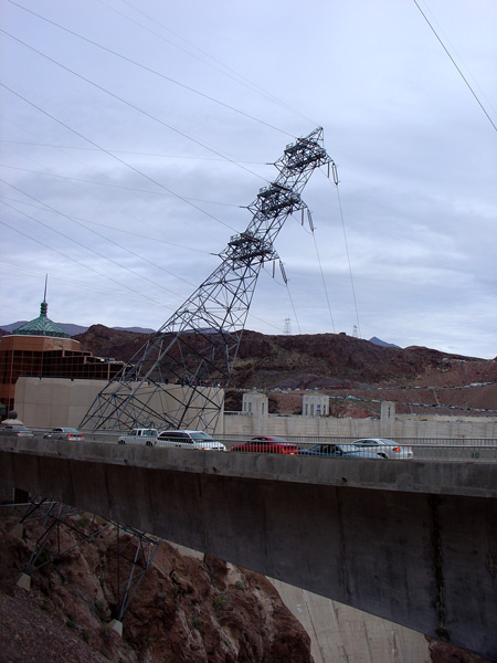 leaning tower of..... electricity