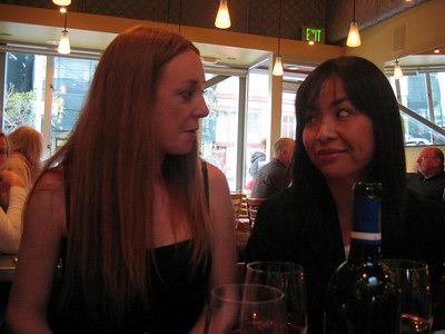 Lisa & Kazuha catching up