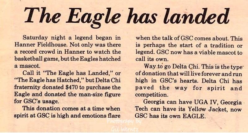 1970's & 80's Georgia Southern Delta Chi