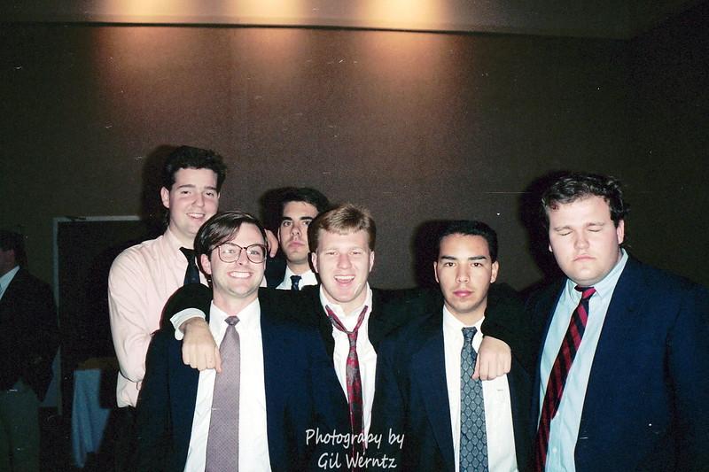 Georgia Southern Initiation. January 1991