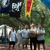 July 1997- The Delta Chi Contingent. Cumberland Island, GA. New haven and Georggia Southern Chapters represented