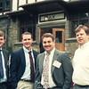 Centennial 1990. Georgia Southern Delegation. Bill Thomas, Cris Varner, Gil Werntz, Jeff Thomas