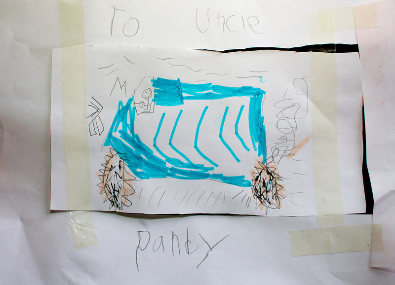 Hey Mitch thanks for a great drawing Uncle Pandy