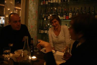 Dinner at Artisan & Vine