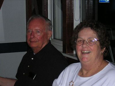 Kay and brother in law John. He and Emily live in  Keene, NH