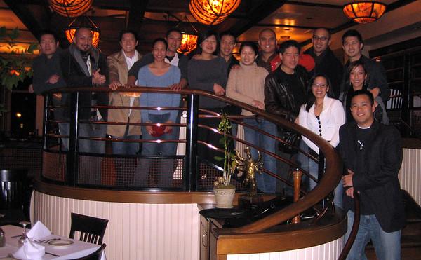 Dinner at McCormick & Kuleto's - 1/13, 2007