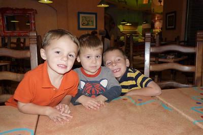 Trevor, Joey, Gavin