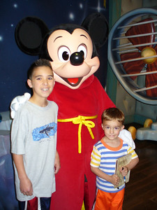 Kyle, Mickey, and Calvin