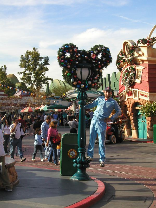 Hangin' around in Toontown
