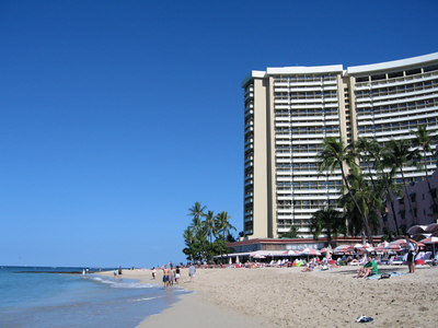 Sheraton Waikiki, Donna's old stomping grounds